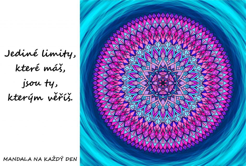 Mandala Posuň své limity