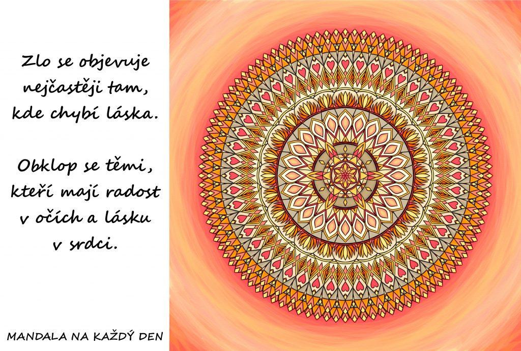 Mandala Radost a láska