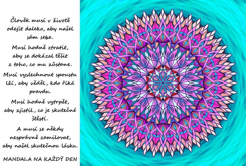 Mandala Sbírání zkušeností