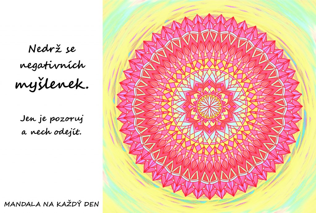Mandala Nedrž se negativních myšlenek