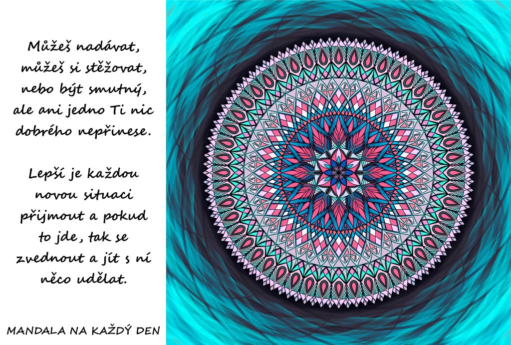 Mandala Přijmout a změnit