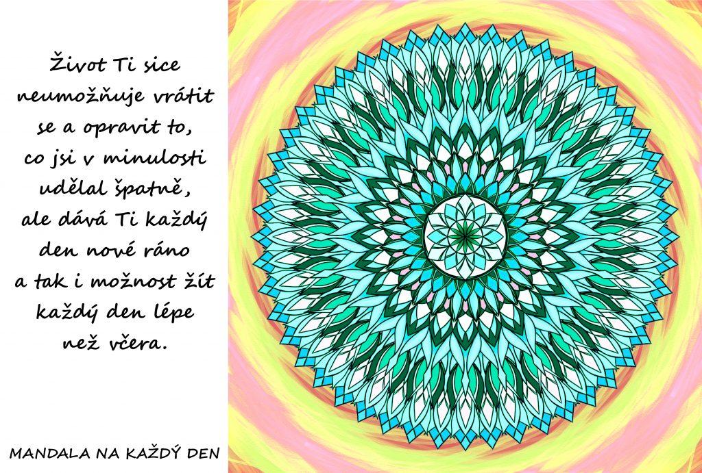 Mandala Dar nového rána
