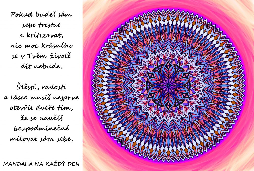 Mandala Bezpodmínečná láska