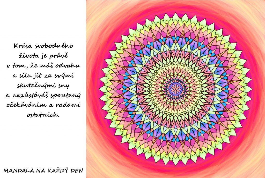 Mandala Krása svobodného života
