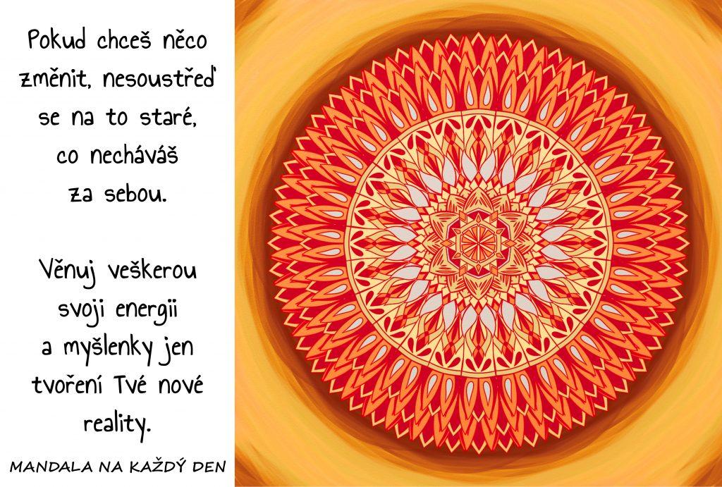 Mandala Utvoř si svůj nový svět