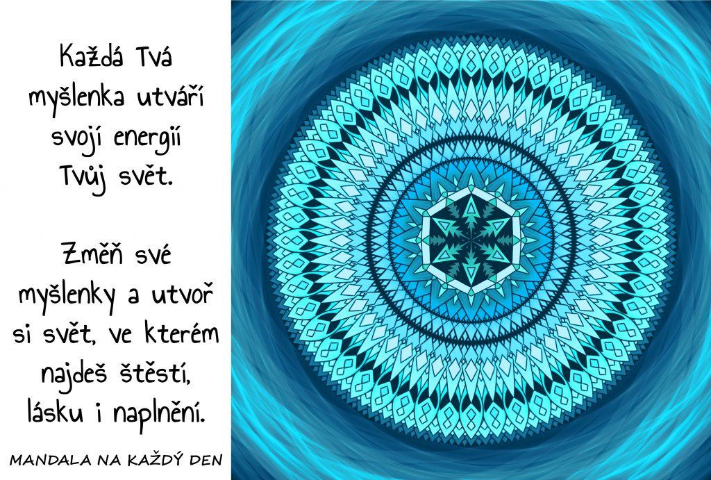 Mandala Vytvoř si svůj vlastní svět