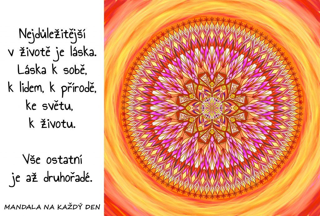 Mandala Tisíc podob lásky