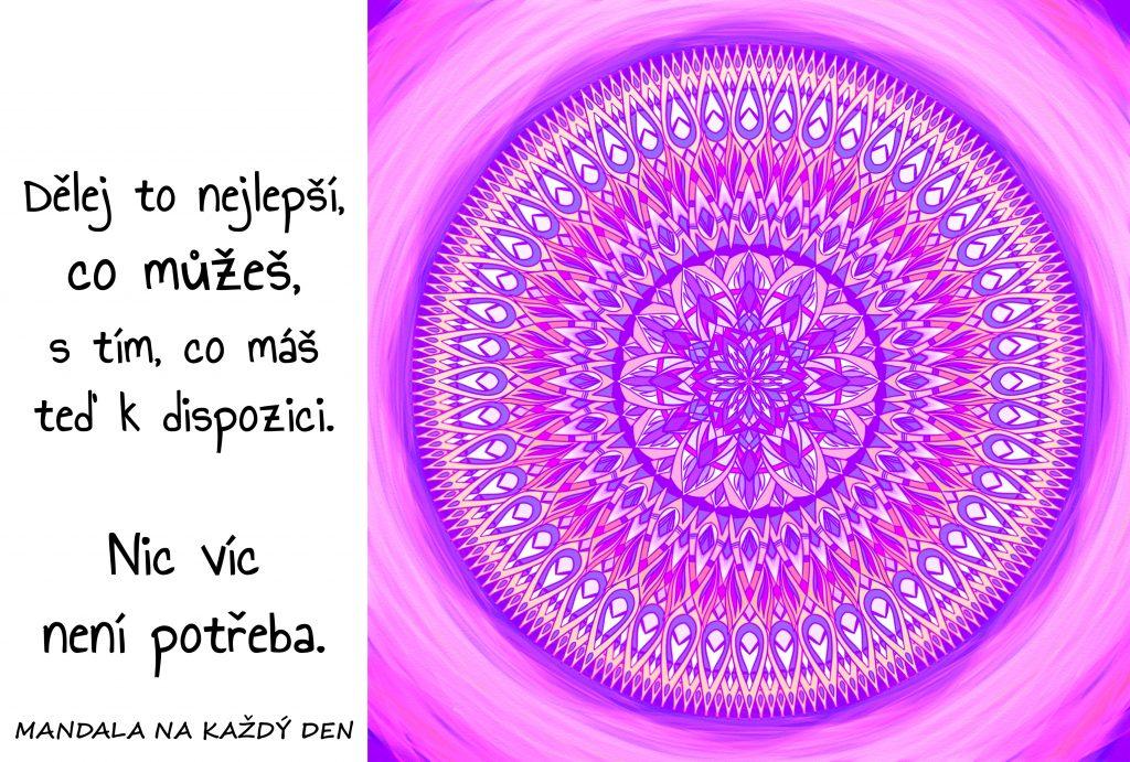 Mandala Nestresuj se
