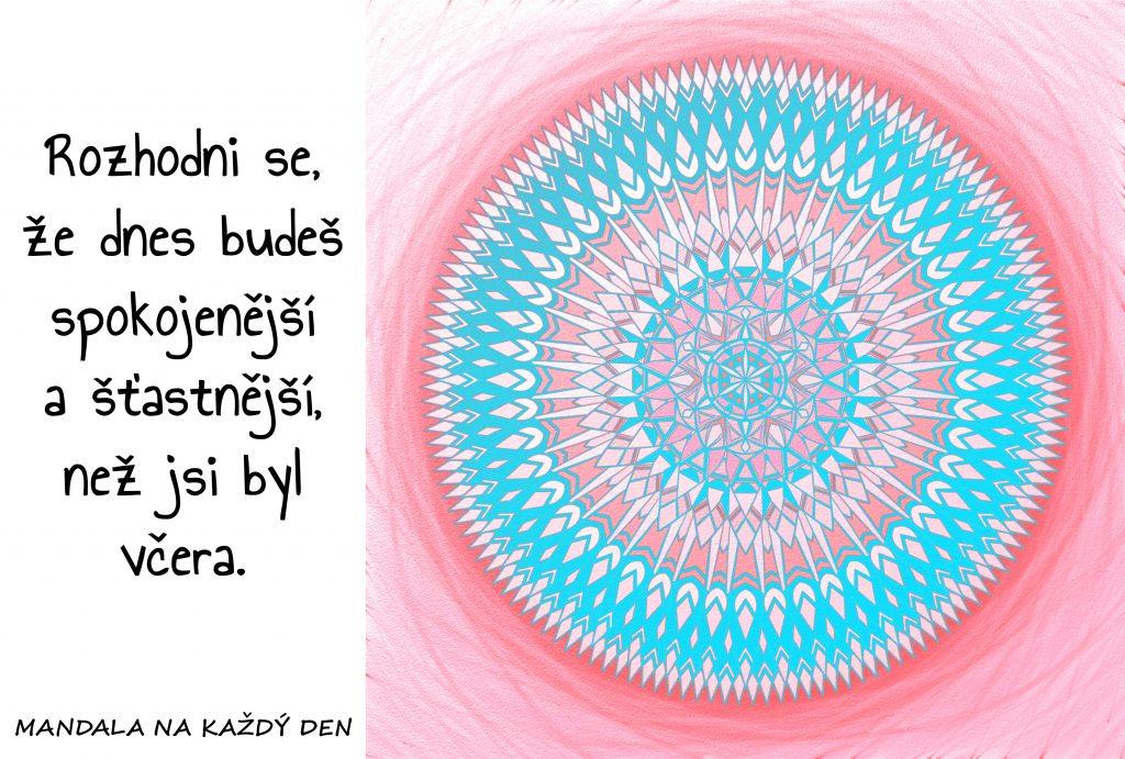 Mandala Spokojenost a štěstí