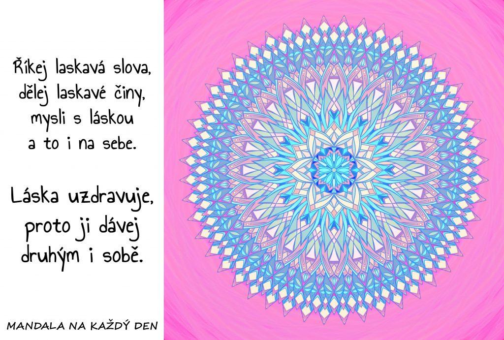 Mandala Láska a sebeláska