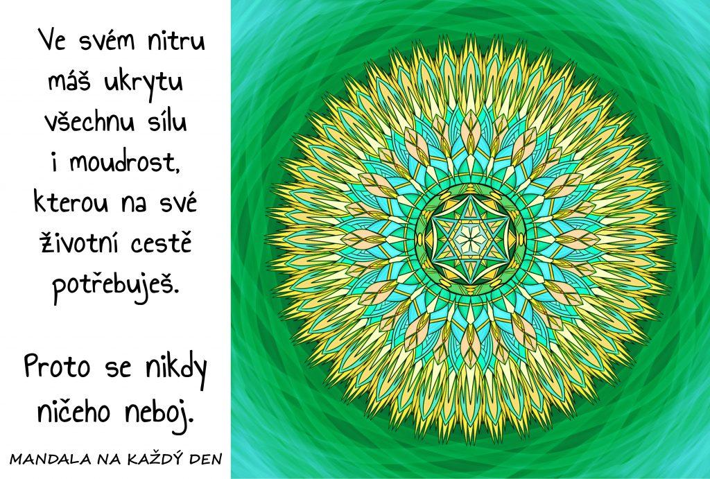 Mandala Vnitřní síla a moudrost