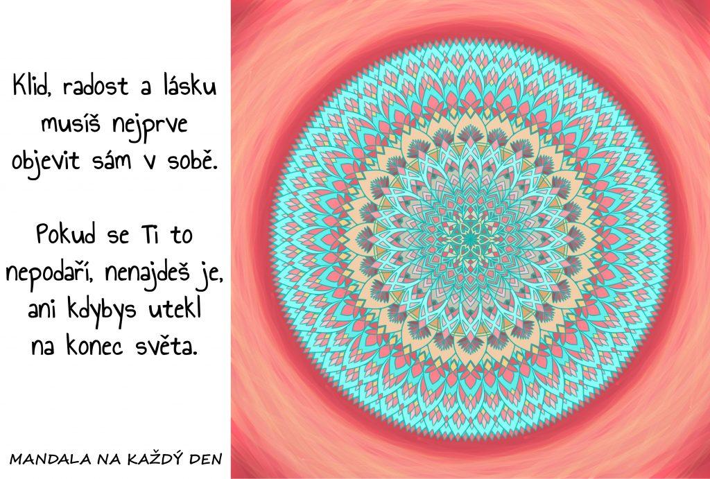 Mandala Klid, radost a láska