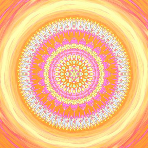 Mandala Ve správný čas na správném místě