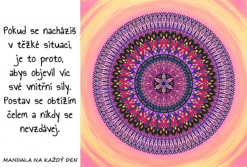 Mandala Objev svou vnitřní sílu