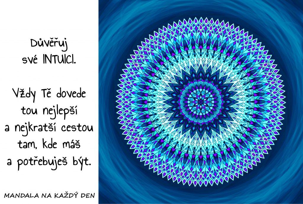 Mandala Důvěřuj své intuici