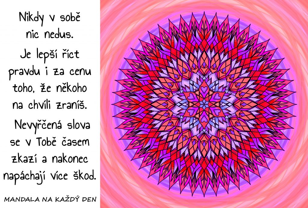 Mandala Říkej pravdu