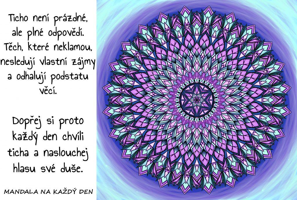 Mandala Melodie ticha