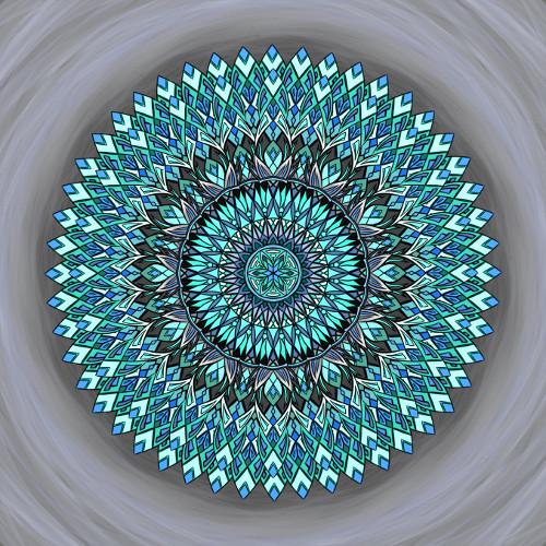 Mandala Neztrácej víru ve svou sílu