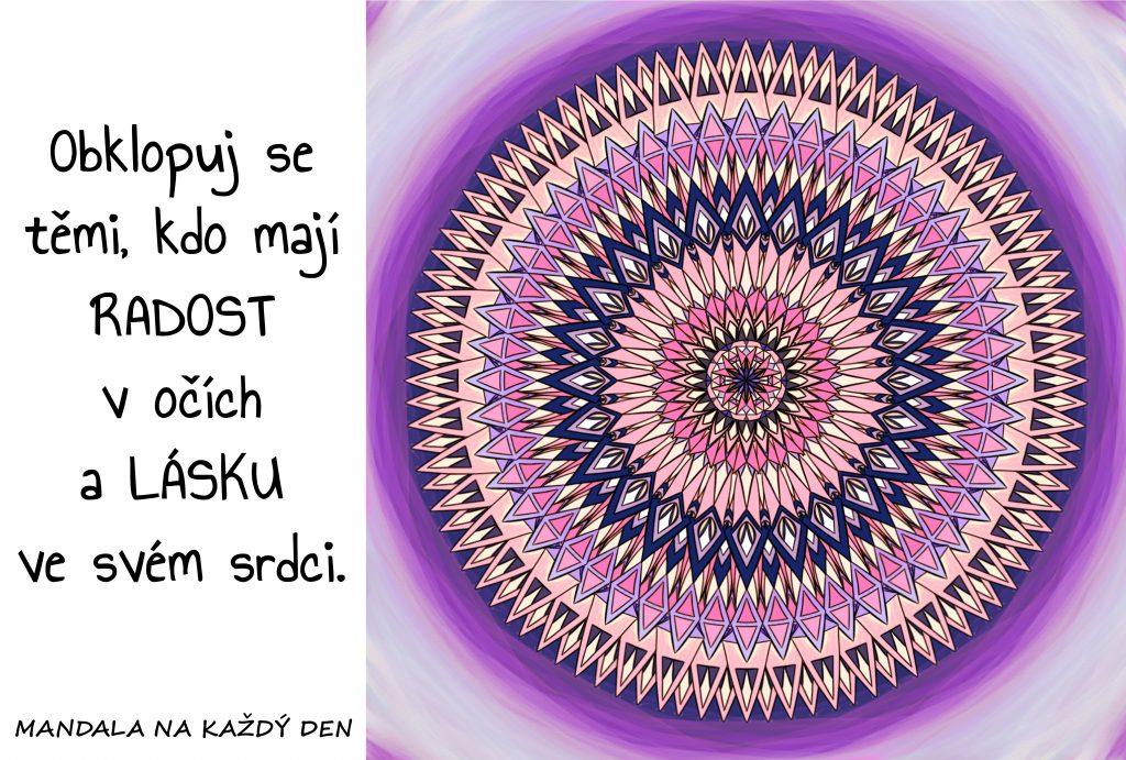 Mandala Nebuď sám