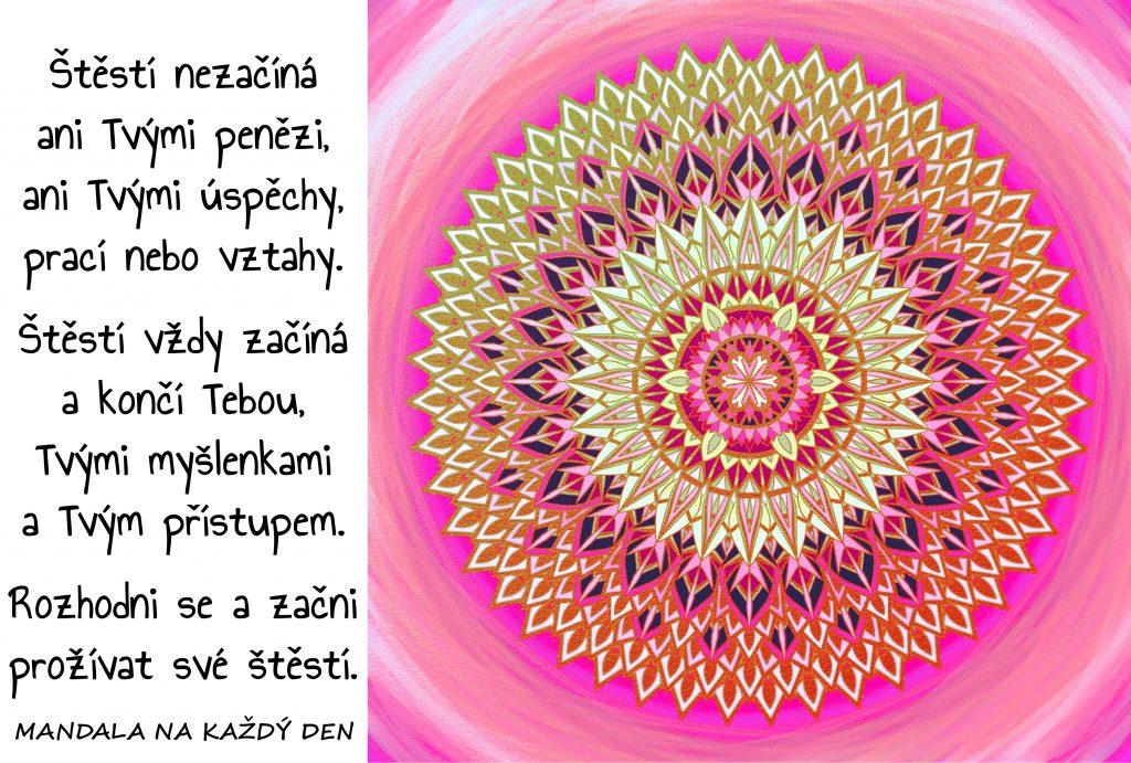 Mandala Začni prožívat své štěstí