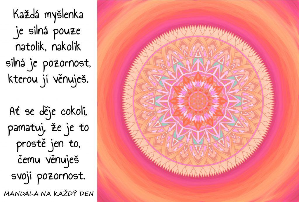 Mandala Síla Tvých myšlenek