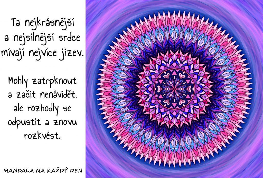 Mandala Nejkrásnější srdce