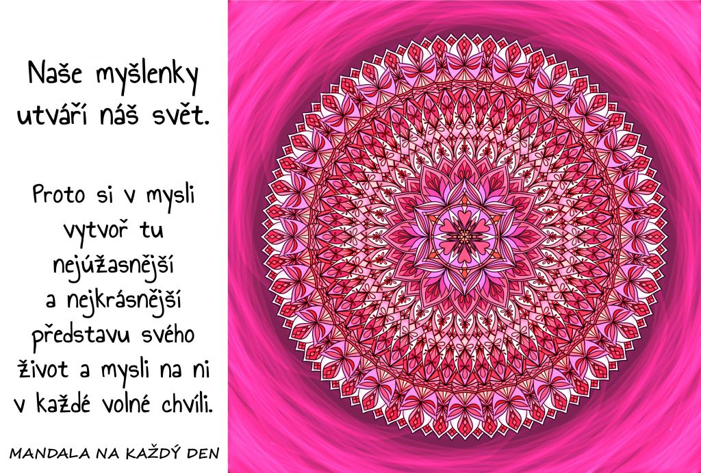 Mandala Utvoř si svůj úžasný svět