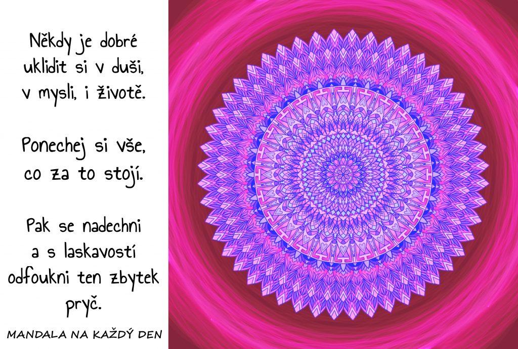 Mandala Úklid v duši