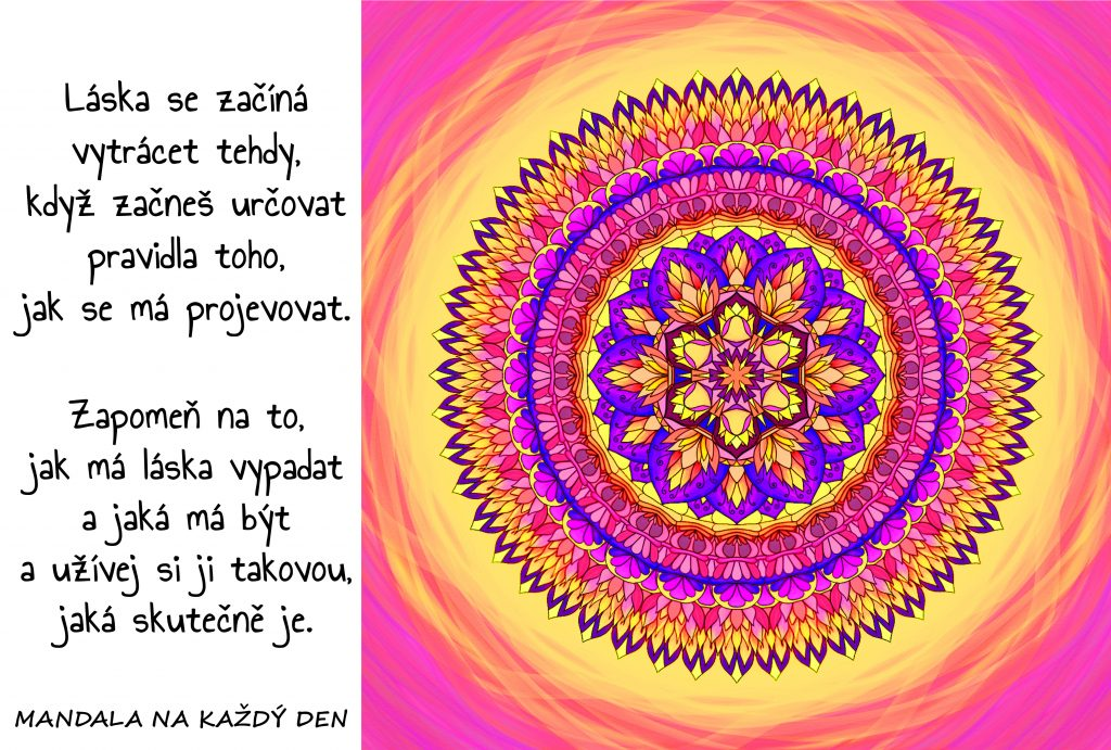 Mandala Skutečná láska