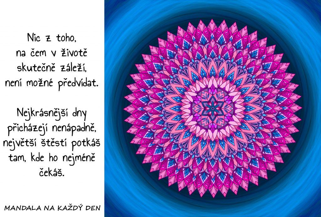 Mandala Největší štěstí
