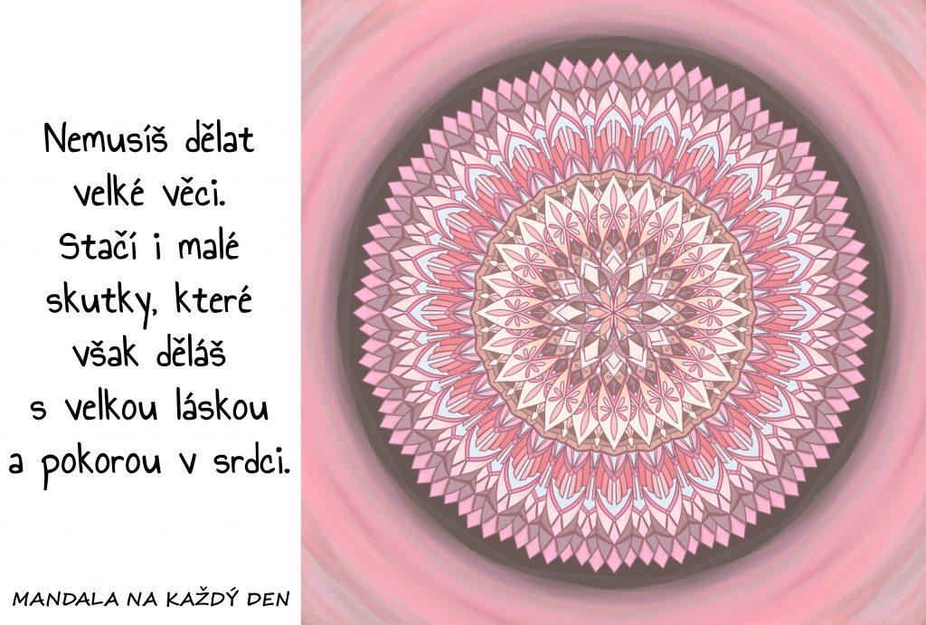 Mandala Láska a pokora