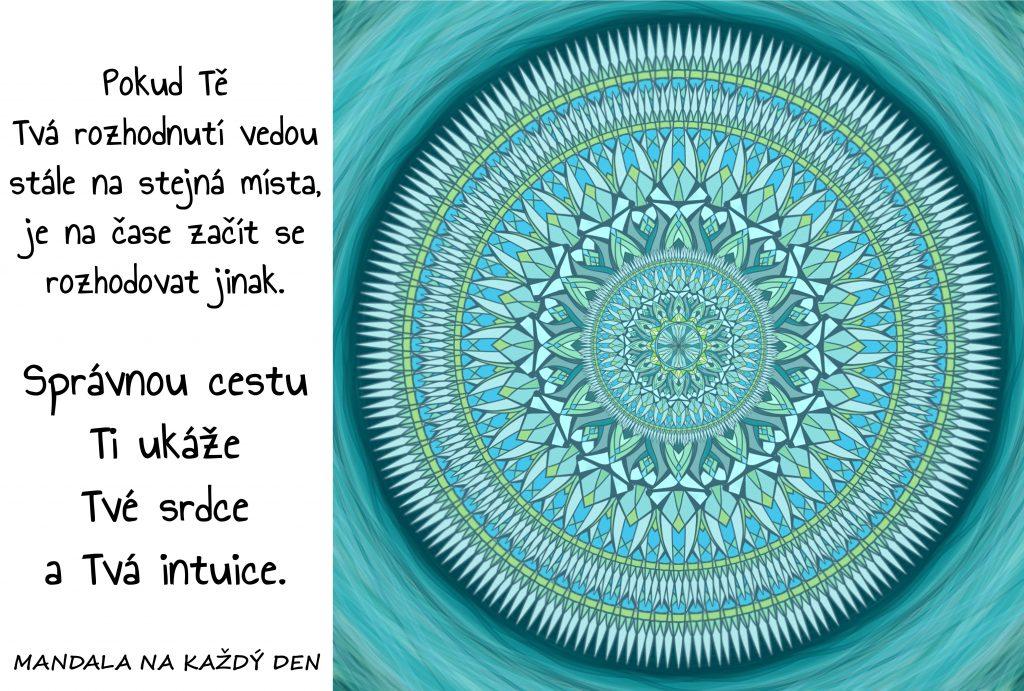 Mandala Srdce a intuice