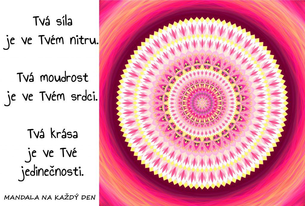 Mandala Síla, moudrost, krása