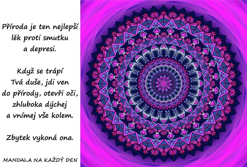Mandala Lék proti smutku