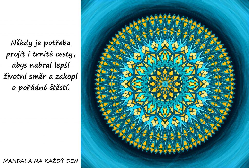 Mandala Naber správný směr