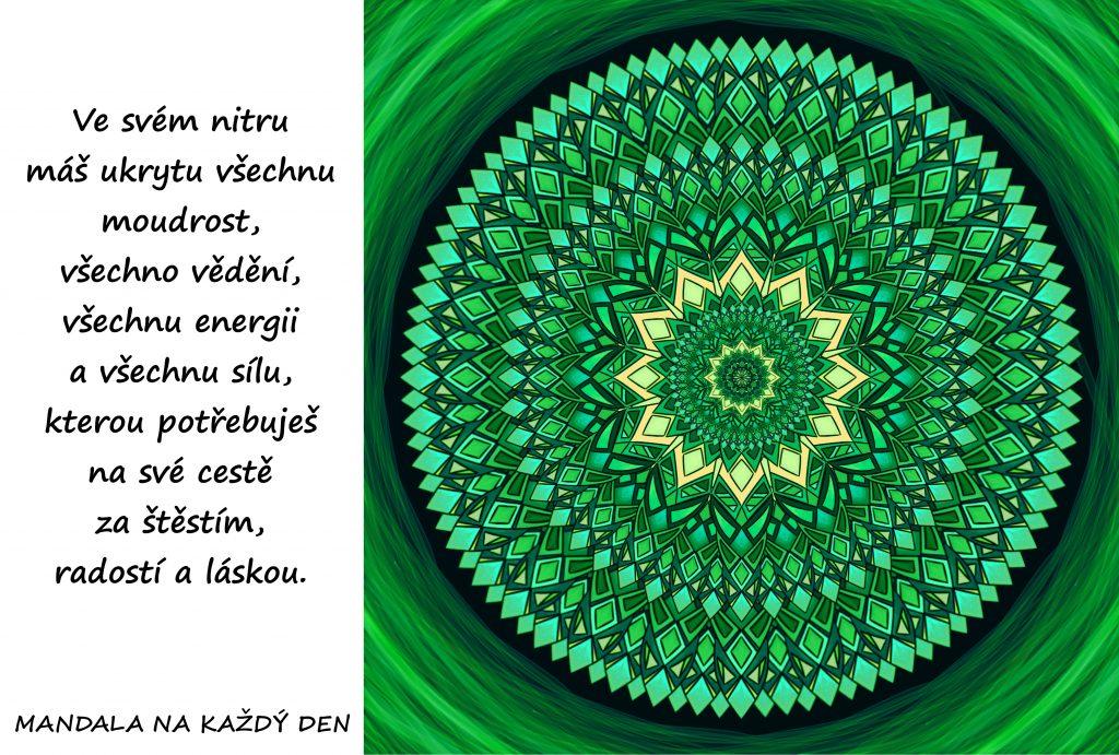 Mandala Moudrost, energie a síla