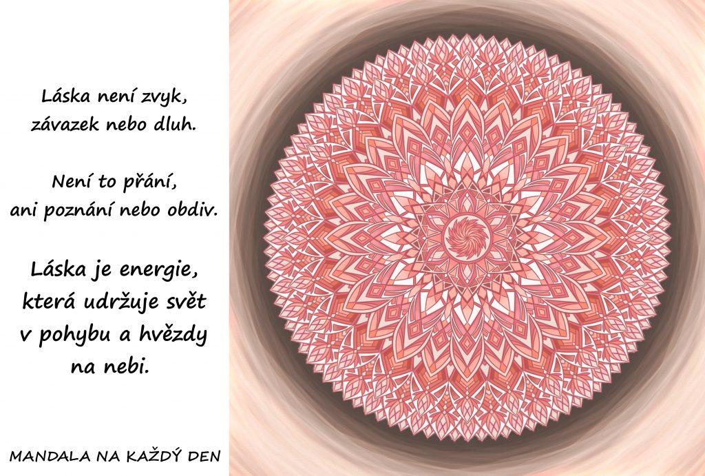 Mandala Energie lásky