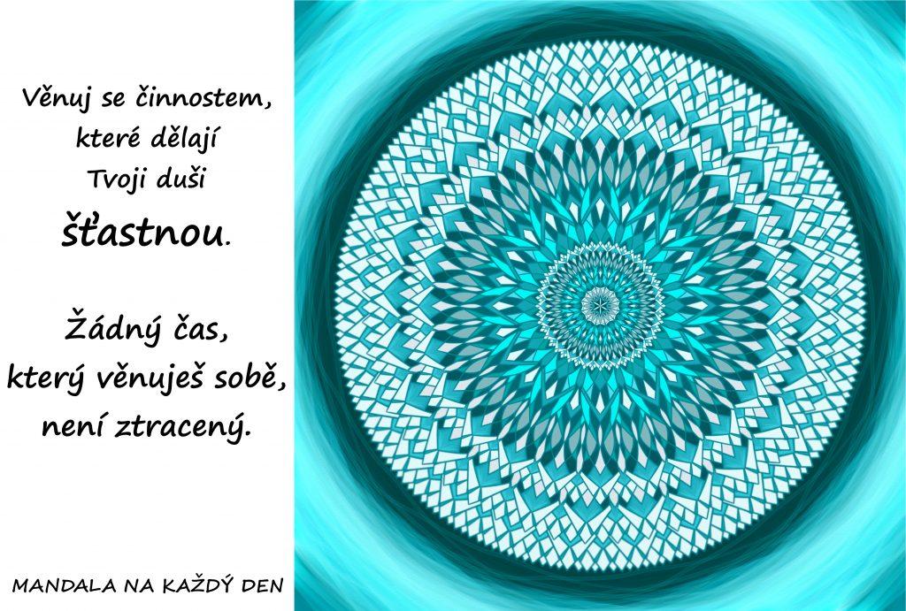 Mandala Štastná duše