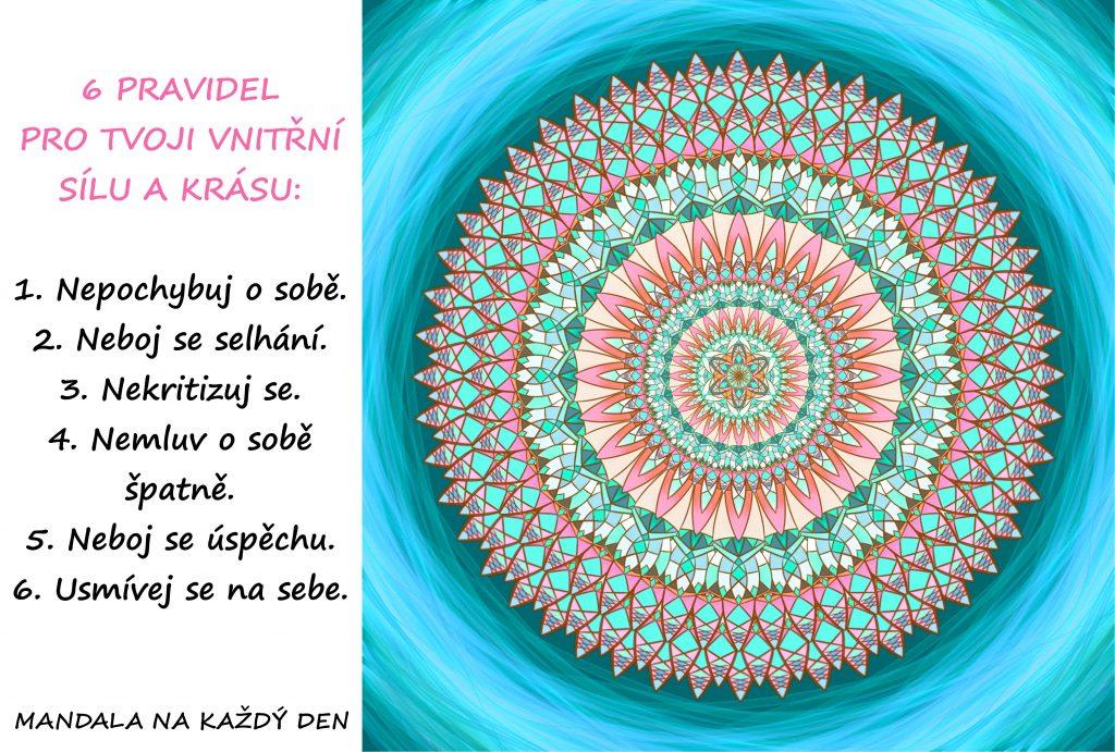 Mandala Vnitřní krása