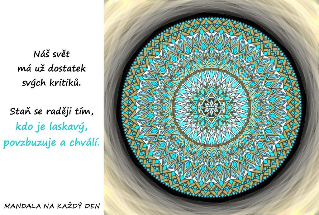 Mandala Povzbuzuj druhé a chval