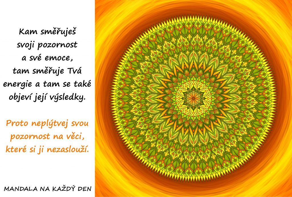 Mandala Síla Tvé vnitřní energie