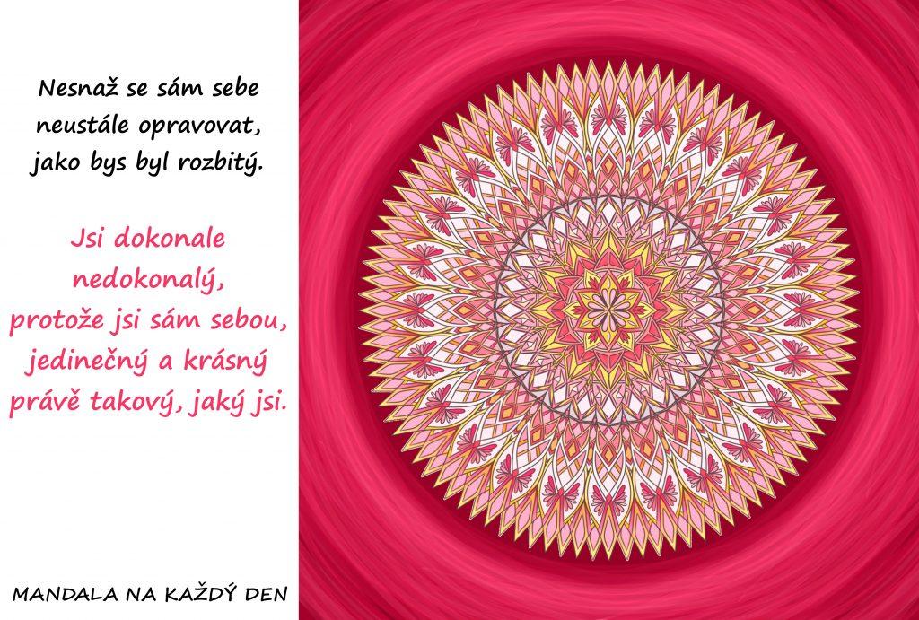 Mandala Tvá krása je v jedinečnosti