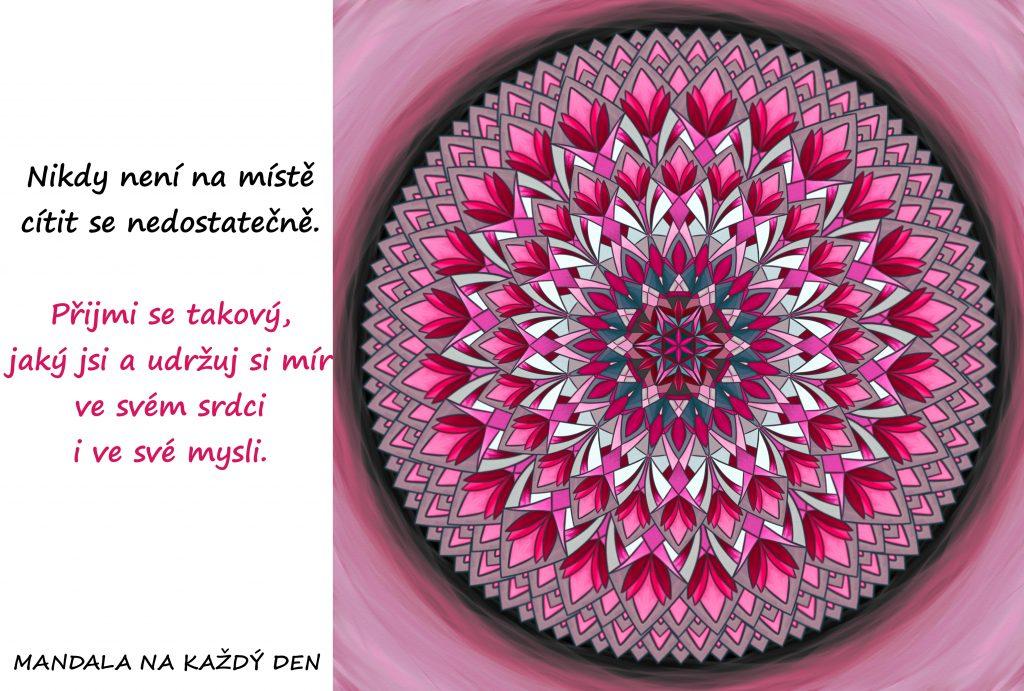 Mandala Udržuj si svůj mír