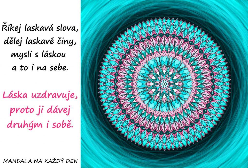 Mandala Láska a laskavost