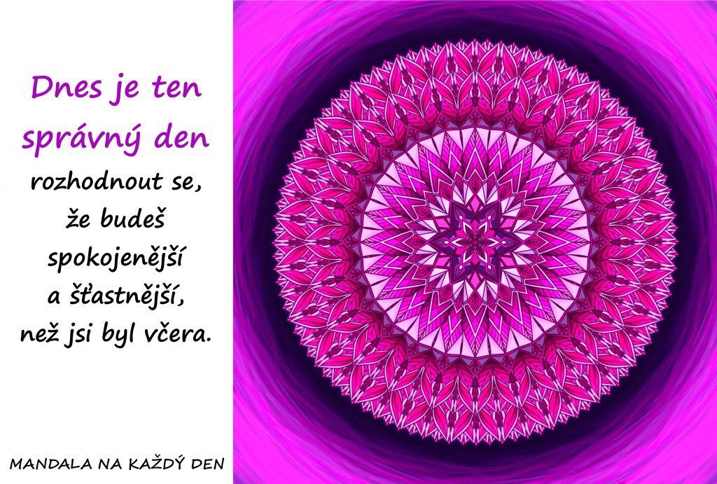 Mandala Začni být šťastnější a spokojenější