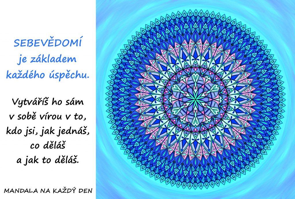 Mandala Pracuj na svém sebevědomí