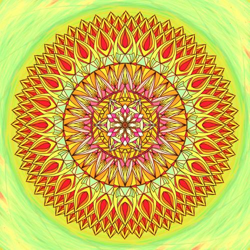 Mandala Milovat znamená přijmout