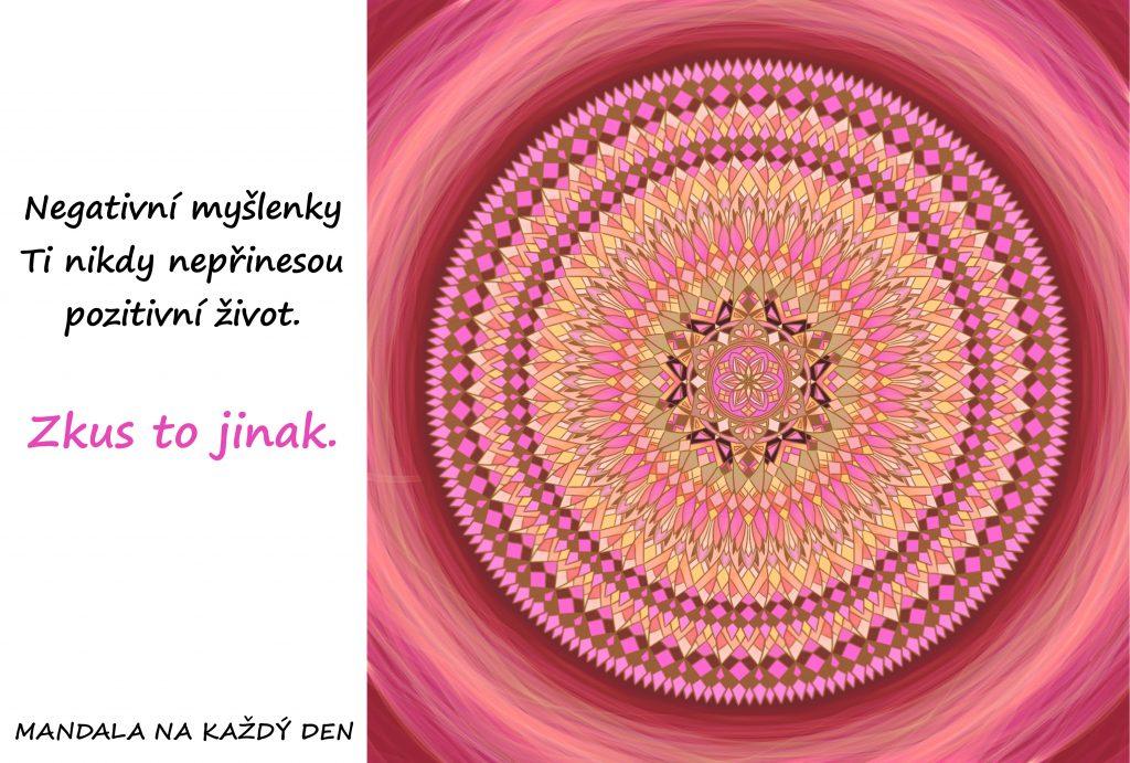 Mandala Mysli pozitivně