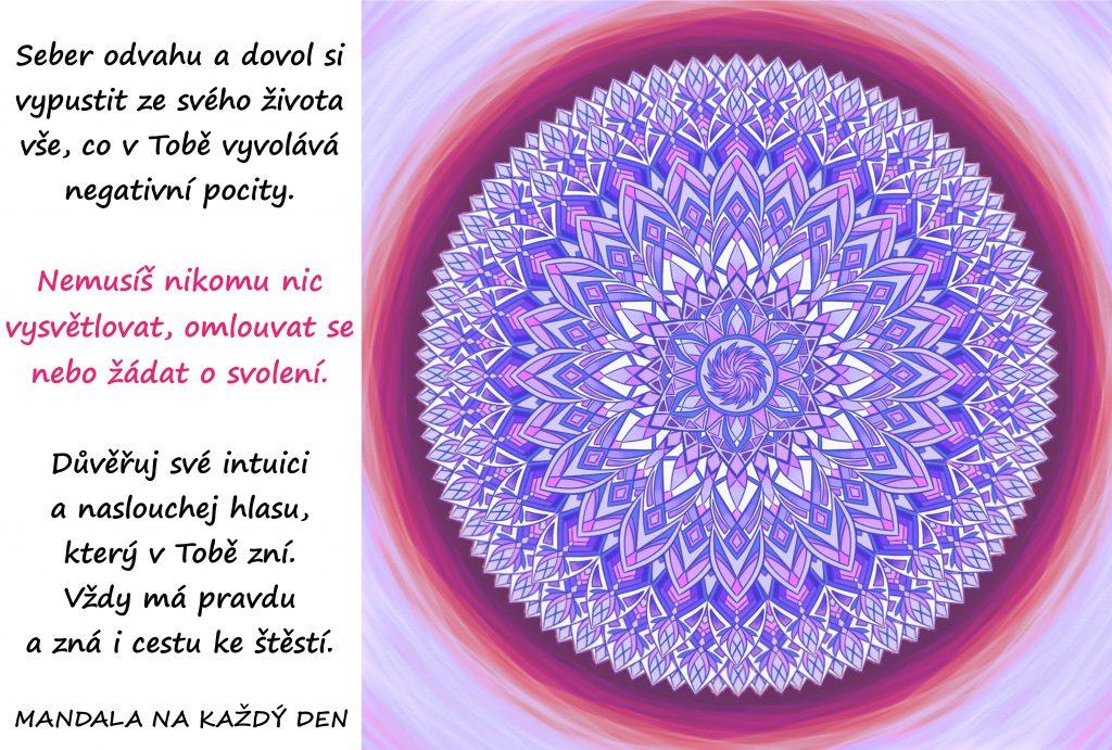 Mandala Síla Tvého vnitřního hlasu