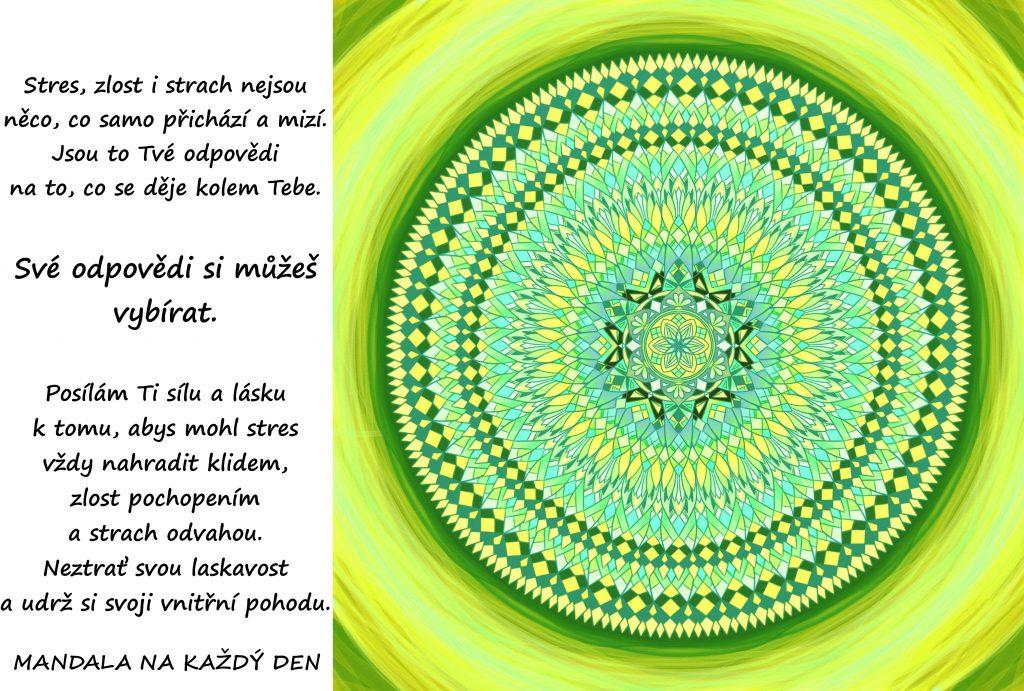 Mandala Síla, láska, klid a pochopení